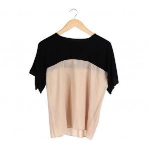 Major Minor Black And Cream T-Shirt