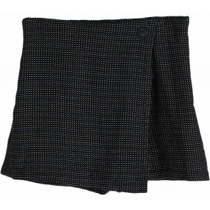 Cotton Ink Black Skort Pants
