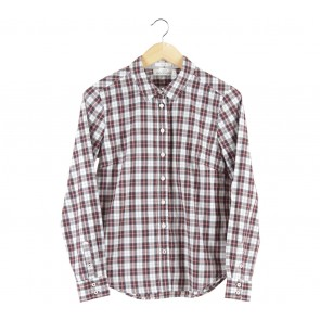 H&M Multi Colour Plaid Shirt