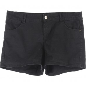 Stradivarius Black Short Pants