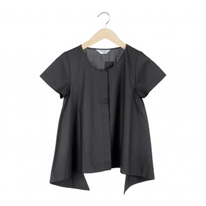 Krom Collective Black Clarissa Blouse