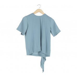 Krom Collective Blue Jane Blouse