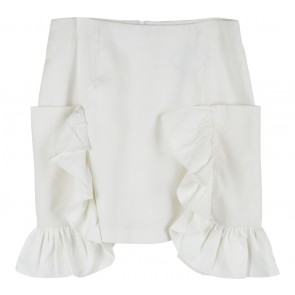 Krom Collective Off White Lily Skirt