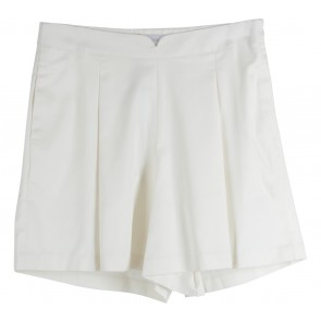 Krom Collective Off White Sharon Shorts Pants