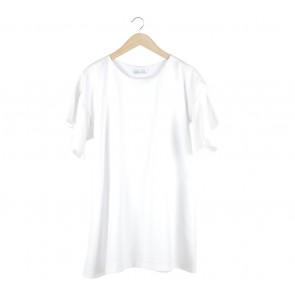 Krom Collective White Tulip Mini Dress