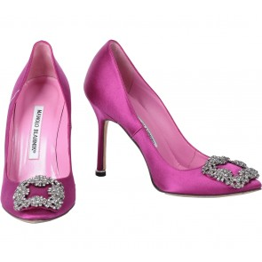 Manolo Blahnik Purple Heels