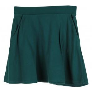 Forever 21 Dark Green Flare Skirt
