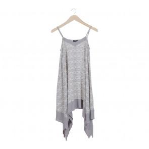 Zalora Grey Handkerchiefs Mini Dress