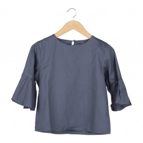 ATS The Label Dark Grey Blouse