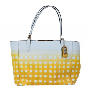Coach Yellow Tote Bag