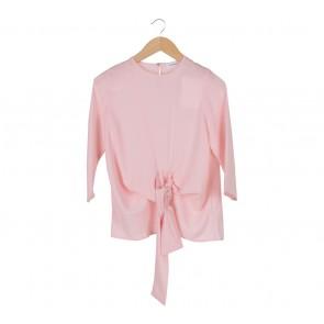 Shop At Velvet Pink Plain Blouse