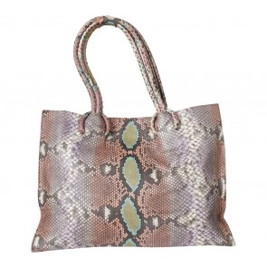 Kamali Multi Colour Snakeskin Shoulder Bag