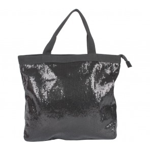 Mphosis Black Sequins Tote Bag