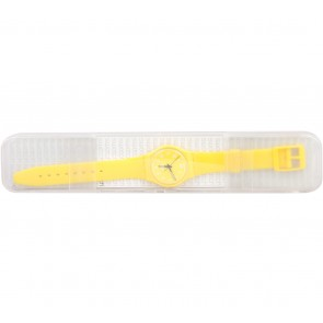 Swatch Yellow Watch