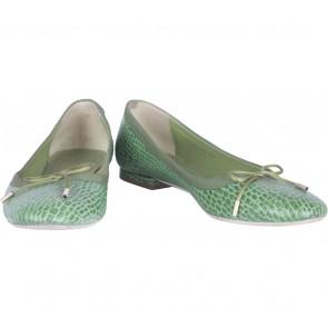 Zara Green Flats