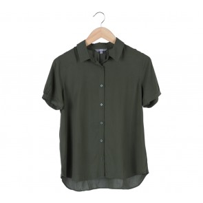 UNIQLO Green Army Shirt