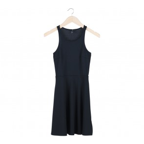 H&M Black Little Sleeveleess Mini Dress