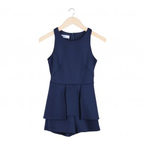 The Editor´s Market Blue Sleeveless Jumpsuit