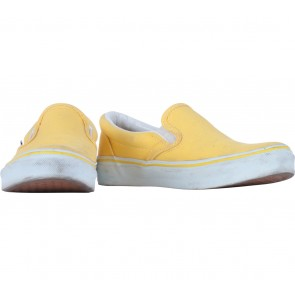 Vans Yellow Classic Slip-On Sneakers