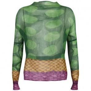 Bao Bao Issey Miyake Green Shirt