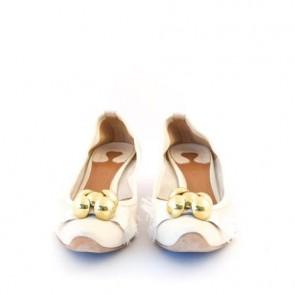 Chloe White Heels
