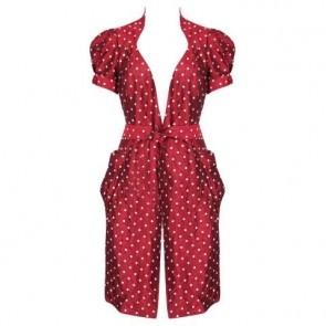 Diane Von Furstenberg Maroon Outerwear