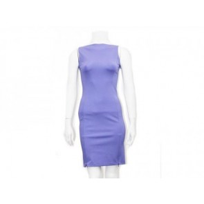 Diane Von Furstenberg Purple Midi Dress
