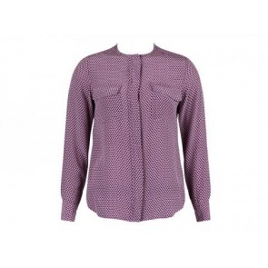 Equipment Femme Purple Shirt