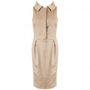 Giambattista Valli Brown Midi Dress