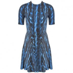 Kenzo Blue Midi Dress