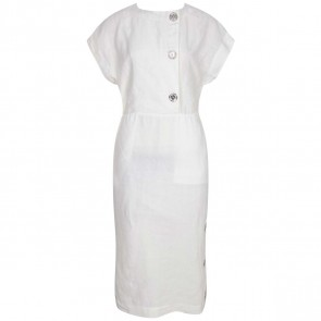 Loewe Cream Midi Dress
