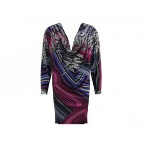 Matthew Williamson Purple Midi Dress