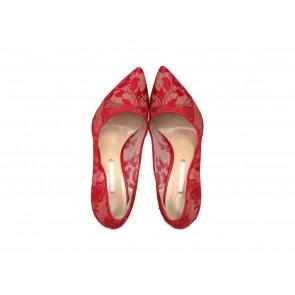 Peter Pilotto X Nicholas Kirkwood Red Heels