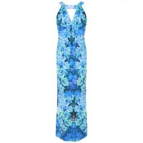 Roberto Cavalli Blue Long Dress