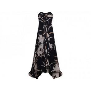 Sebastian Gunawan Black Midi Dress