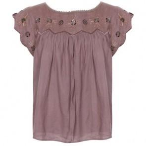 See By Chloe Brown Shirt