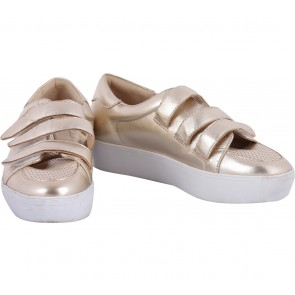 Nine West Gold Sneakers