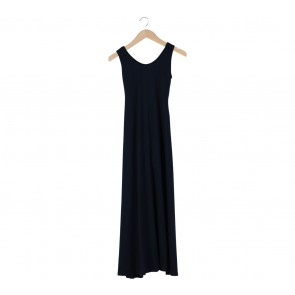Cotton Ink Blue Long Dress