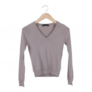 Zara Cream Knitted Sweater