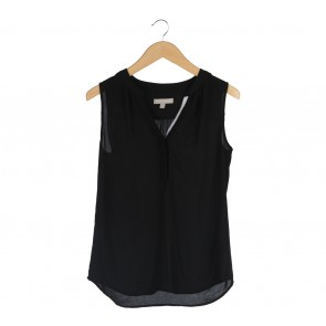 Banana Republic Black Sleeveless