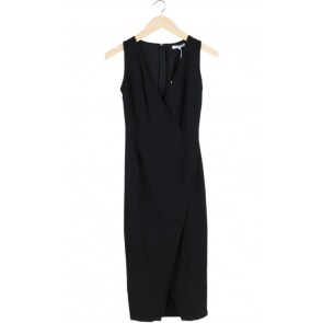 Black V Neck Dress