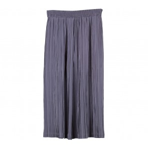 Lilac Dark Grey Pleated Pants