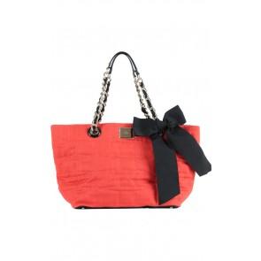 Kate Spade Red Ribbon Hand Bag