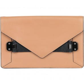 BCBG Maxazria Brown Eva Clutch