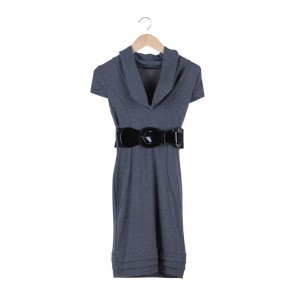 Jane Norman Grey Midi Dress