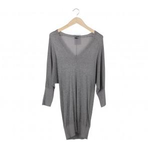 Mango Silver Mini Dress