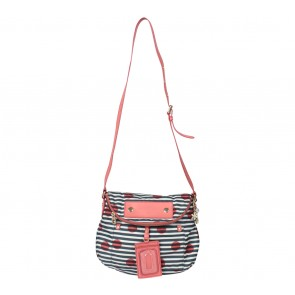 Marc Jacobs Orange ´Preppy Nylon - Natasha´ Print  Sling Bag