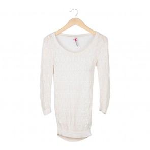 Stradivarius Cream Sweater