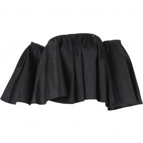 Eight Slate Black Bardot Blouse