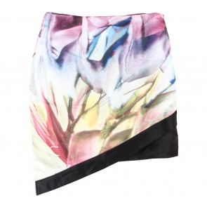 Vone Multi Colour Abstract Skirt